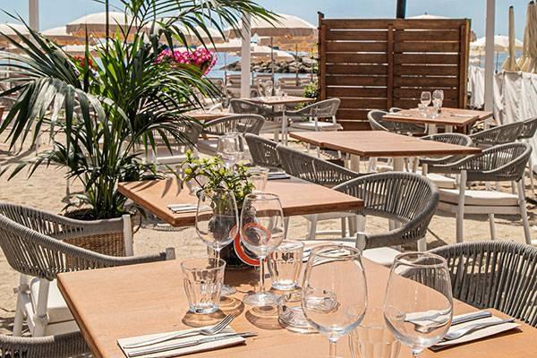 Jimbaran Beach - Restaurant Vallauris
